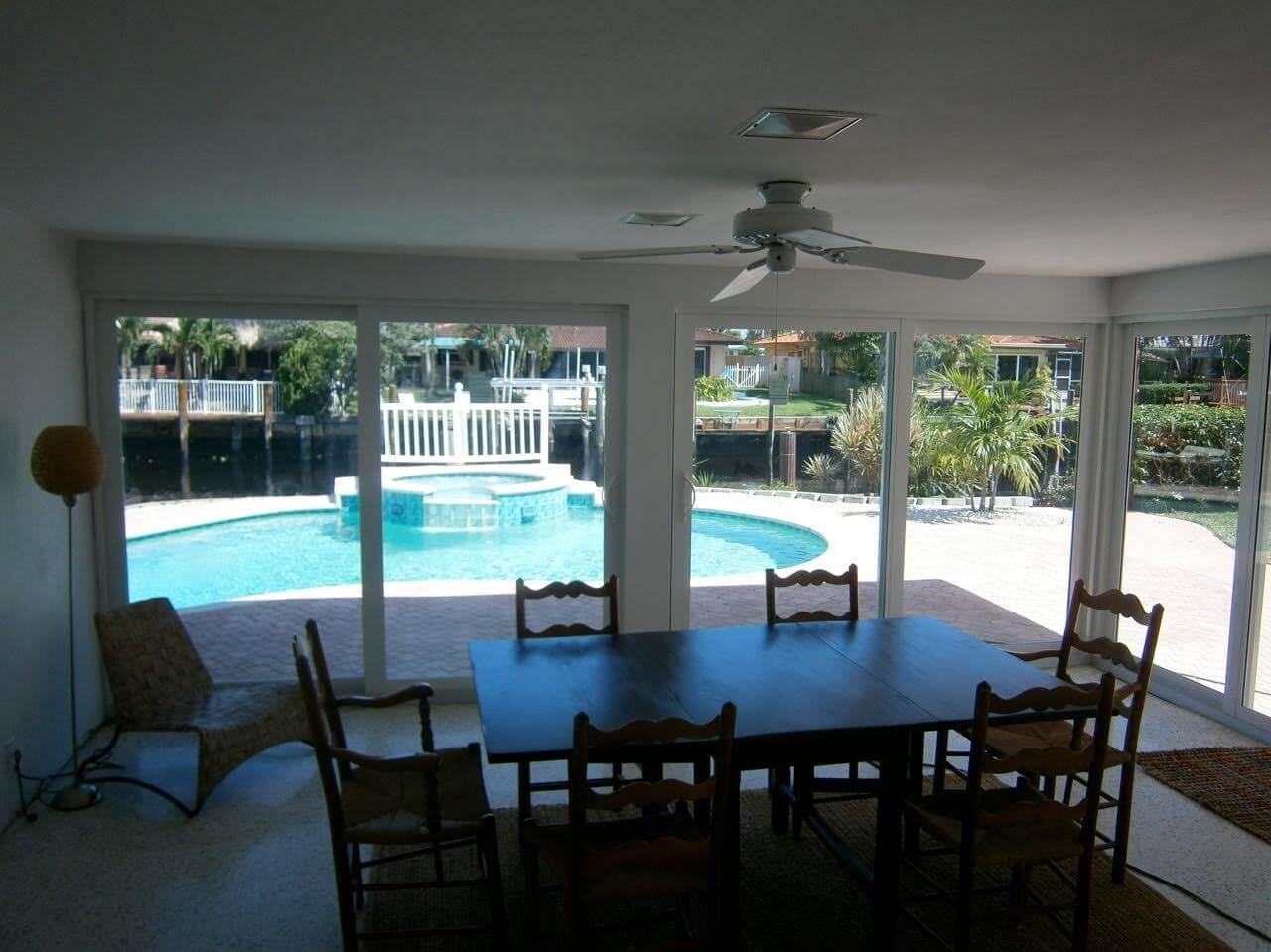 Fort Lauderdale, FL hurricane windows