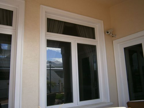 Double Push Out Casement Window
