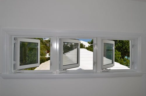 Three Outswing Casement Windows
