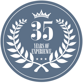 35 Years of Experience